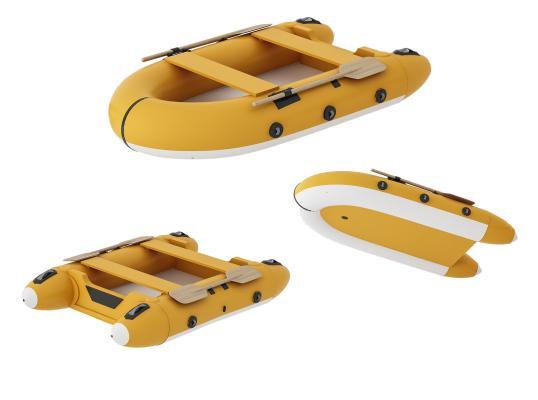 现代皮划艇 冲锋舟 橡皮艇