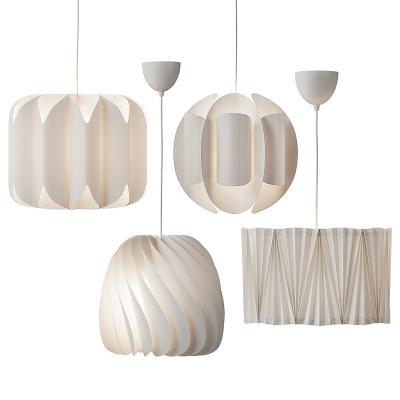 現代異形創意吊燈組合
