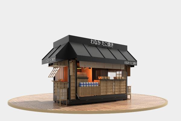 日式售卖亭