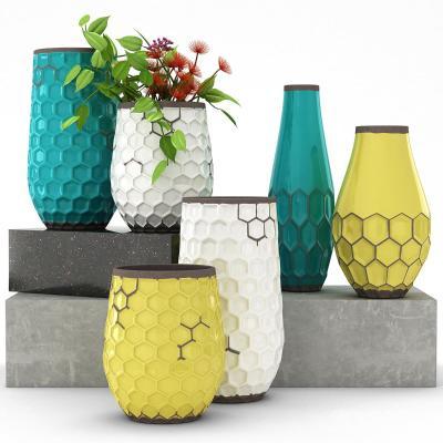 现代花瓶摆件组合