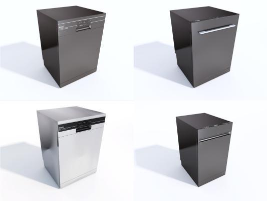现代洗碗机组合 海尔洗碗机