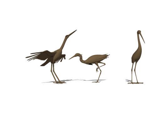 现代景观白鹅艺术雕塑