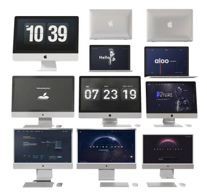 现代电脑 显示屏