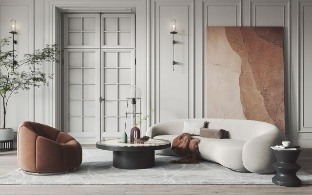 北欧风格客厅