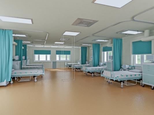 现代医院病房