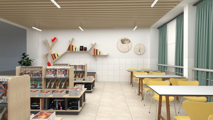 现代图书馆 阅读空间 阅览室