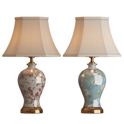 新中式陶瓷花瓶台灯