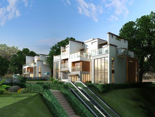 现代别墅住宅