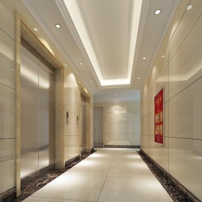 简欧电梯间 电梯厅 过道