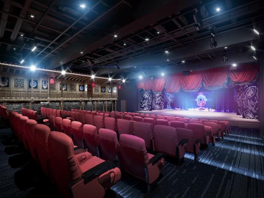 现代电影院