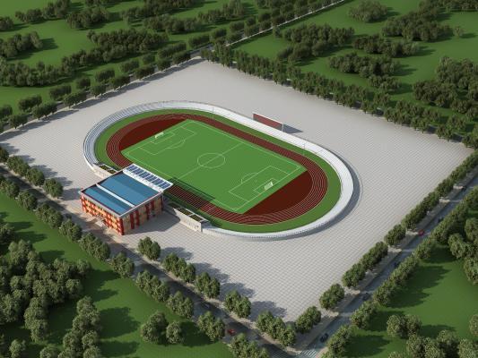 现代体育馆 体育场 足球场