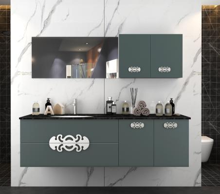 现代风格卫浴柜架 浴室柜
