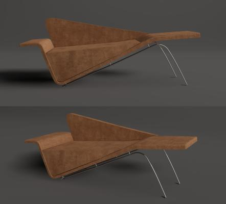 现代躺椅 贵妃椅