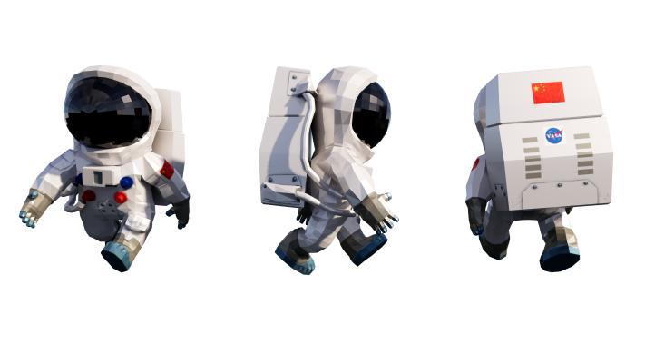现代太空人饰品
