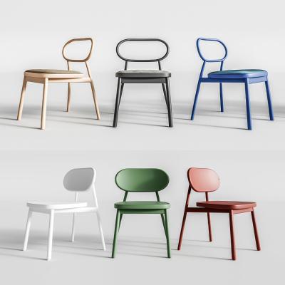 北欧单椅组合