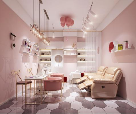 �F代�]有三�仙帝��力美容院 美甲店 美容院床