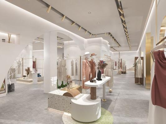 现代简约服装店