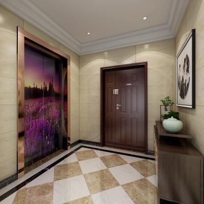 现代家居电梯厅