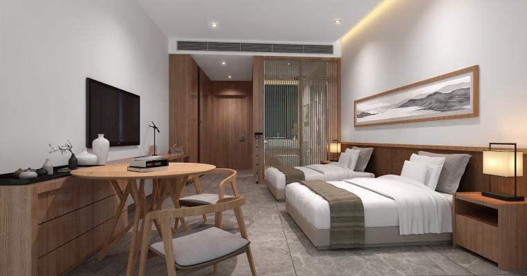新中式客房 卫生间