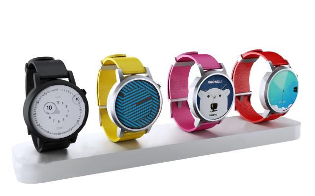现代手表摆件