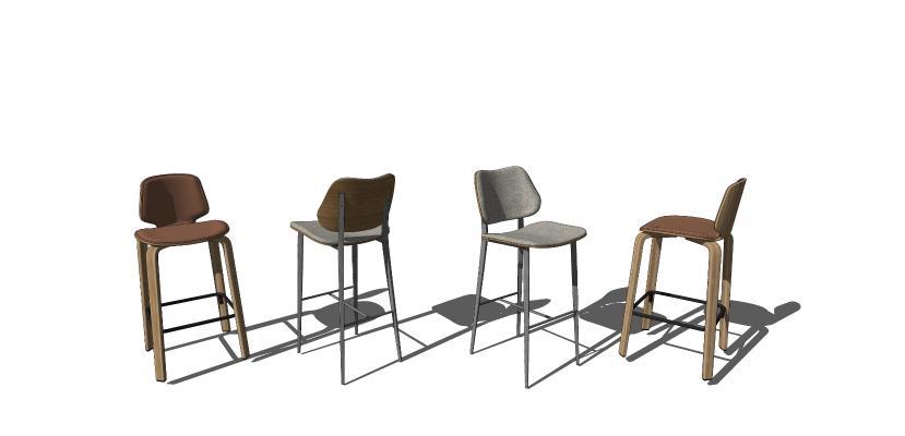 北欧风格吧椅