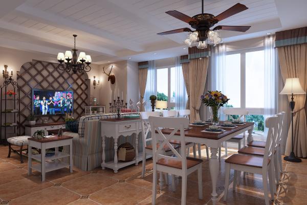 客厅 组合沙发 电视柜 电视墙