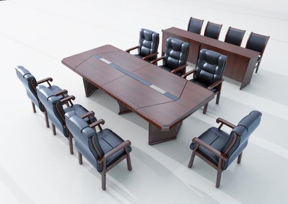 现代会议桌 条桌