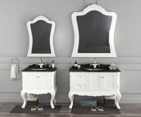 欧式浴室柜 洗手台