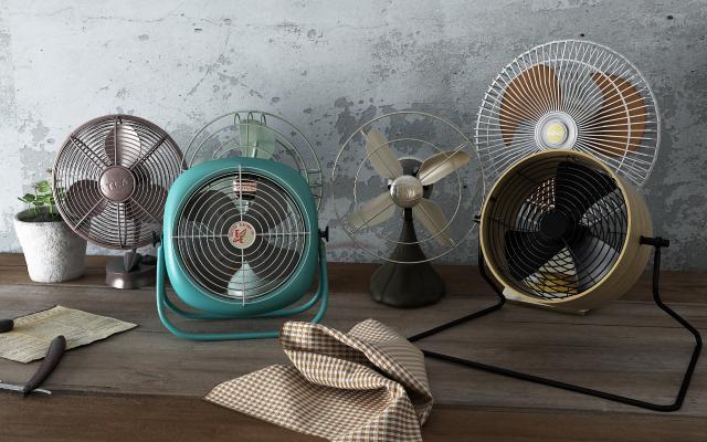 现代电风扇