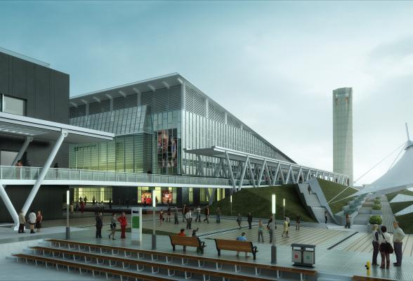 现代博物馆 展览馆