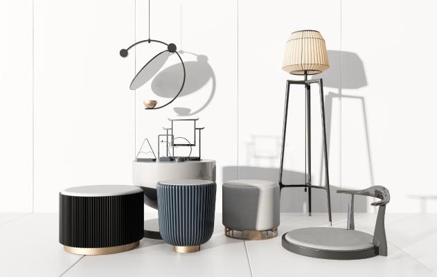 现代凳子 茶几 椅子 桌子