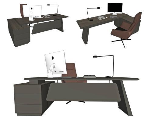 现代办公桌椅 班台 经理桌