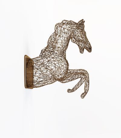 现代马雕塑 墙饰 挂饰