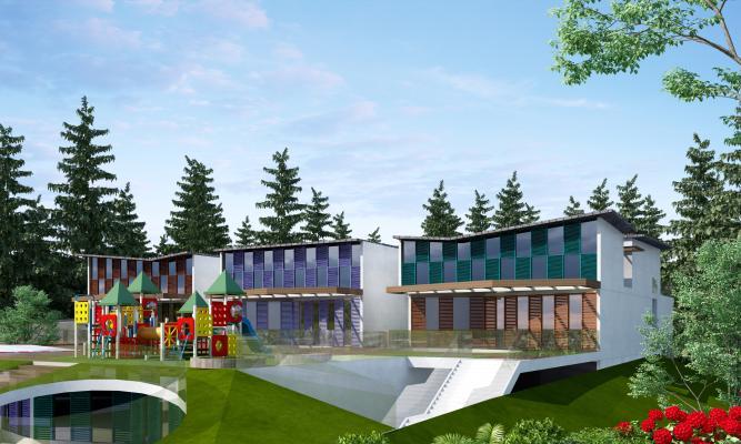 现代学校 幼儿园
