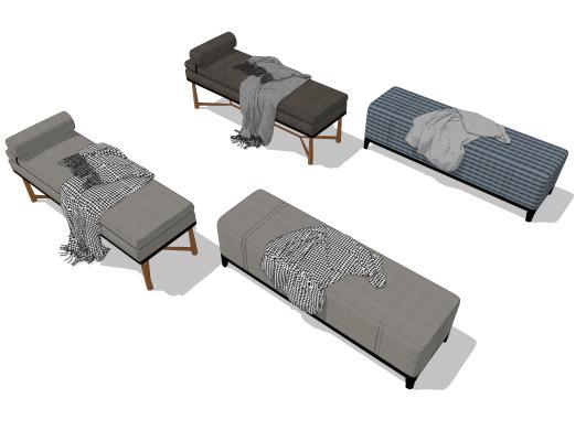 现代床尾凳 沙发凳