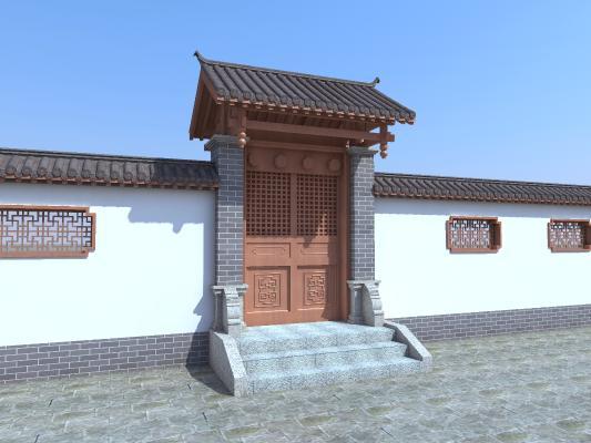 传统中式古建筑