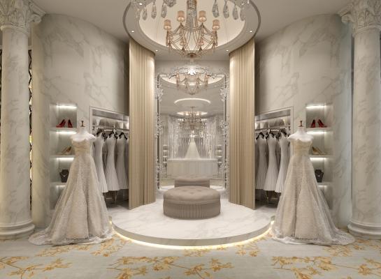 欧式婚纱店