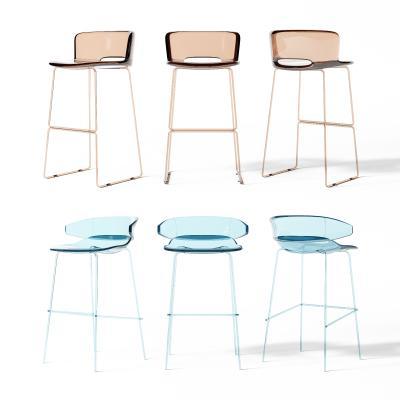 现代吧椅 透明吧椅