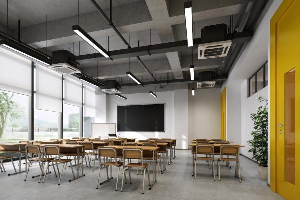 工业风学校 教室 画室