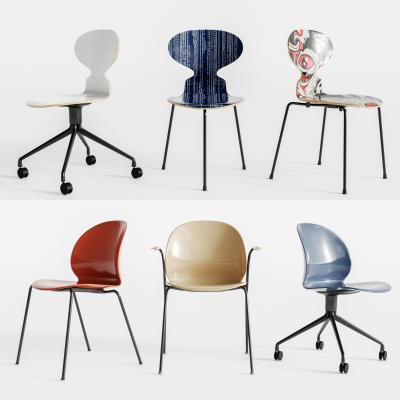 现代休闲单椅 转椅