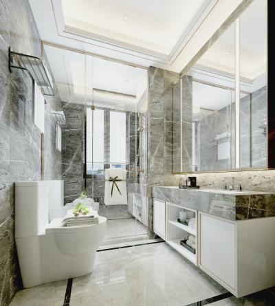 现代卫生间淋浴房