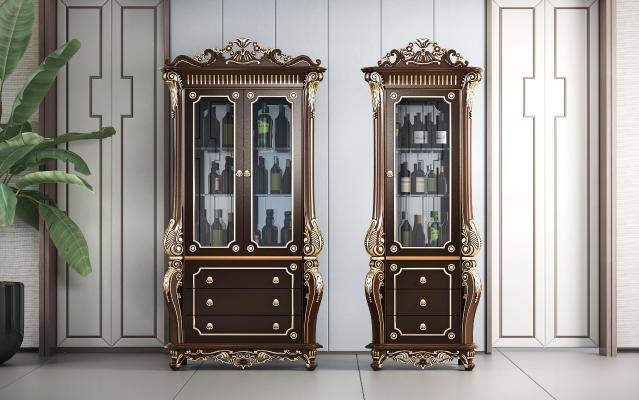 新古典奢华酒柜