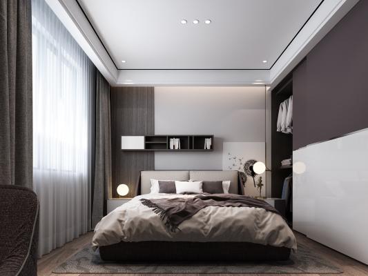 后现代卧室 次卧