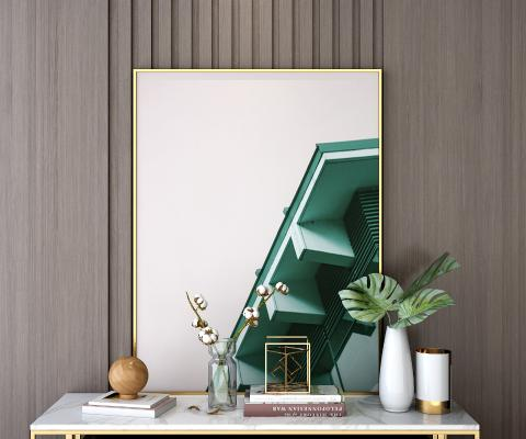 现代风格装饰品 摆件 挂画