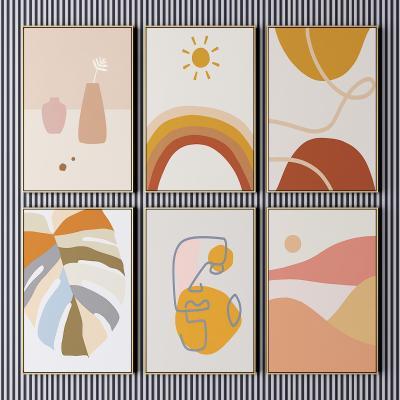 北欧装饰画 艺术画 抽象画