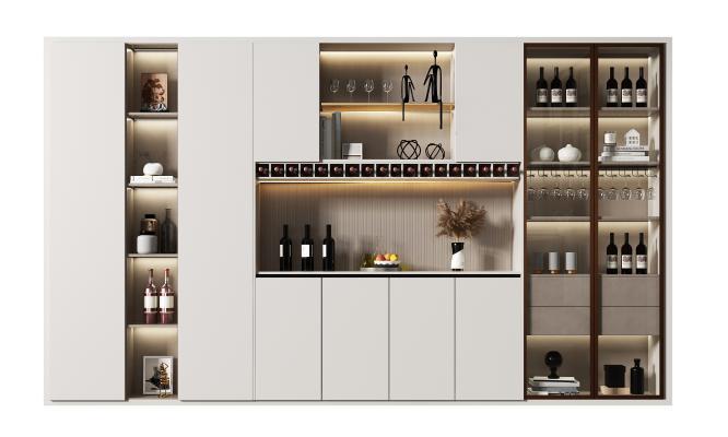 现代 酒柜