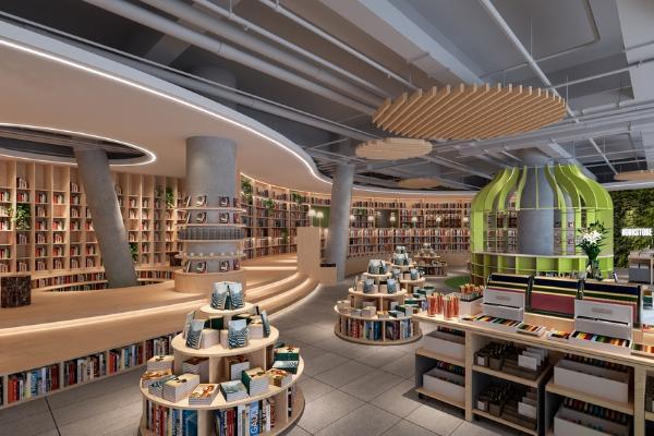 现代书吧 书店