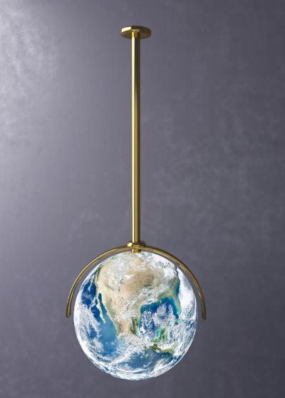 现代星球吊灯