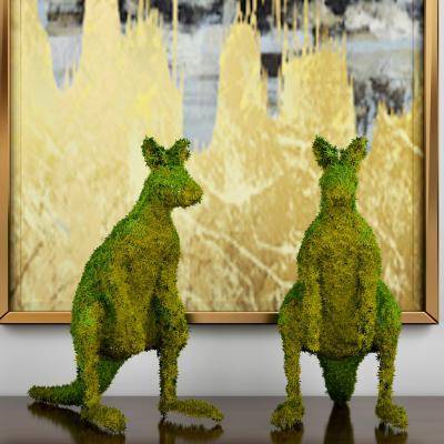现代植物 动物摆件 装饰品