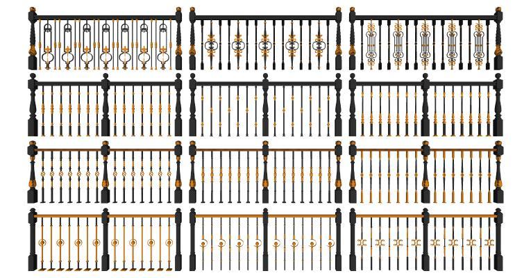 欧式栏杆 护栏